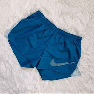 Nike dry-fit running shorts, size S